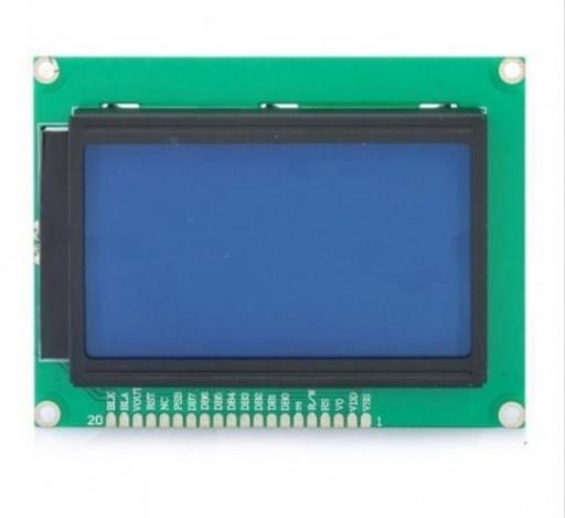 Display LCD 168 x 64 Backlight Azul 20 Vias